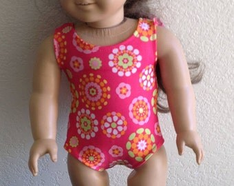 "Bathing Suit Made to fit 18"" Dolls Such as American Girl Item #92"