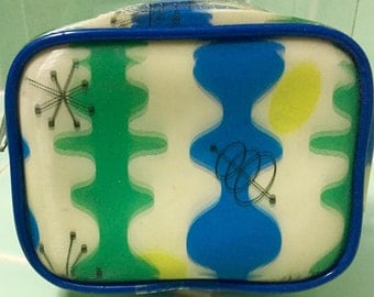 Coin Purse Zipper Tote WINKY POPULUXE 3D Lenticular Mid Century Modern Starburst Retired Design   Free Shipping