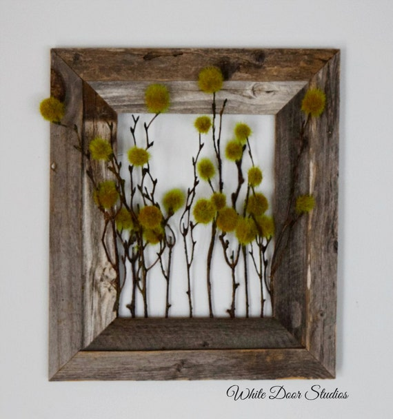 Wall Sconces For Greenery : Rustic Greenery Wall Decor Unique Wall Decor Barnwood
