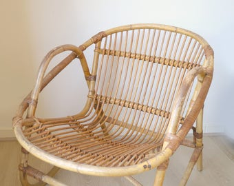 Adult rattan chair, Wicker Chair