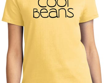 Ladies Cool Beans Tee T-Shirt COOLBEANS-LPC61