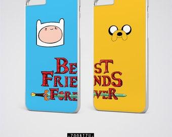 Best Friend iPhone Cases, Adventure Time Bff case, Best Friend iPhone 7 Case BFF iPhone 6S Plus Case Cartoon iPhone 6 Case