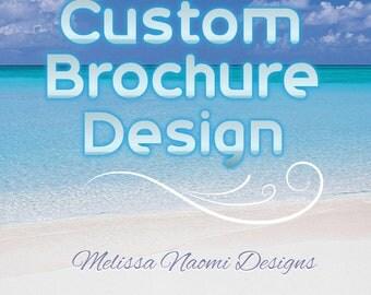 Brochure Design, Custom Brochure, Bi-Fold or Tri-Fold Brochure, Personalized Professional Brochure, Original Graphic Design, DIGITAL FILE