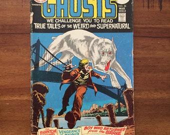1975 Ghosts #36 Comic Book/ DC Comics