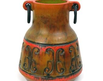 Alvino Bagni Ring-Handle Vase for Raymor Imports