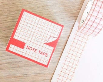 Cute washi tape - note tape #9 | Cute Stationery