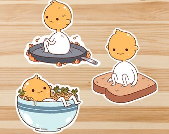 Eggby Sticker Set *Pack of 3*