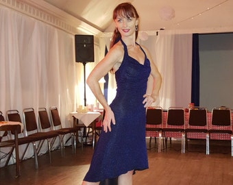 Tango halterneck dress- VESPER
