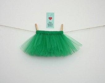 Green Tutu, Christmas Tutu, St. Patrick's Day Tutu, Saint Patrick's Day, Girl Tutu, Newborn Tutu, Green, Baby Girl, Newborn, Girl, Tutu
