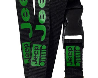 Jeep Lanyard - Key Chain
