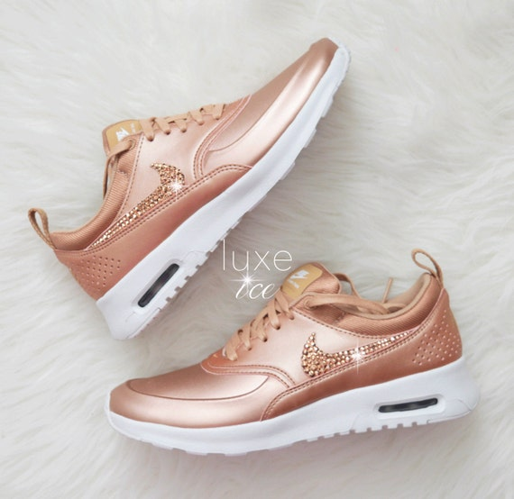 limited nike air max thea se with swarovski by shopluxeice. Black Bedroom Furniture Sets. Home Design Ideas