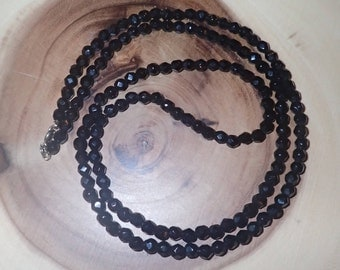 Long Black Onyx Necklace