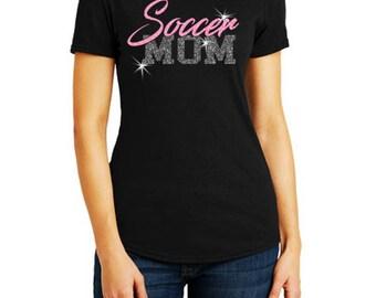 Soccer Mom Tshirt   Soccer  Mom Shirt   Soccer Mom Top   Soccer Mom Tee