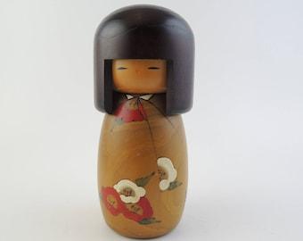 Vintage kokeshi doll, Usaburo