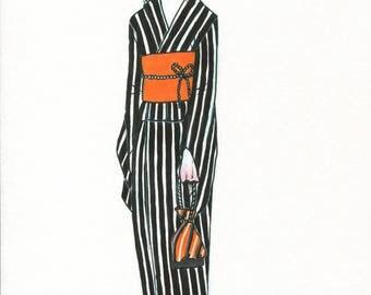 Figure A5 - Yukata girl 01
