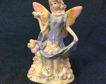 Vintage Porcelain Fairy Figurine