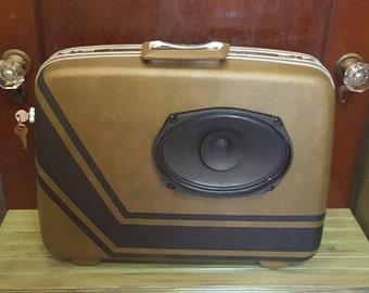 Suitcase Speaker Boombox Speakerbox