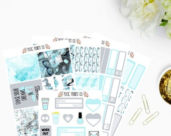 Fashionista Planner Sticker Kit, for use with Erin Condren, Life Planner, Mambi, Happy Planner, Planner Stickers, Recollections
