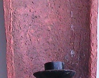 Wall Sconce made from Mediterranean Roof Tile