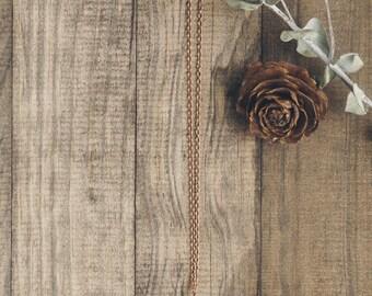 Pinecone Necklace | #6