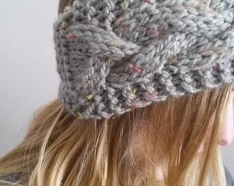 knit headband / earwarmer / cable knit