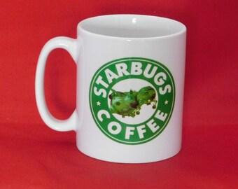 Red Dwarf Starbugs Starbucks Inspired Coffee Mug 10oz