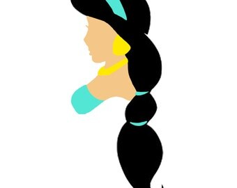 Disney Inspired Aladdin - Princess Jasmine Decal