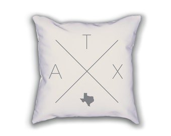 Austin Home Pillow - Texas Pillow, Texas Home Decor, Austin Home Decor, Texas Home Pillow, Texas Throw Pillow