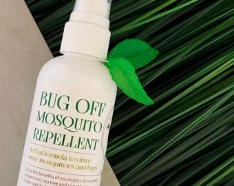 Bug Off Mosquito Repellent / Herbal Protection for Outdoors