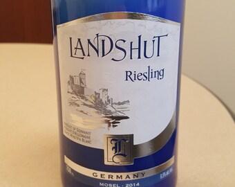 Landshut Riesling - Citrus Basil - Beer Bottle Candle