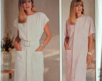 Uncut 1980s McCall's Vintage Sewing Pattern 2911, Size 20-22-24;Misses' Dress