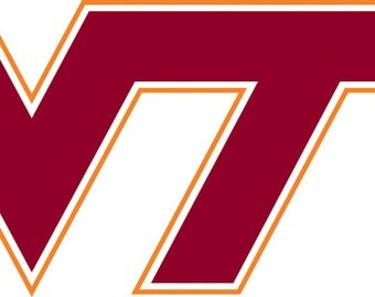 Virginia Tech Hokies SVG Vector File