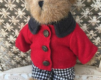 "Darling Little Boyds Bear ""Edmund""-All Original with Tag"