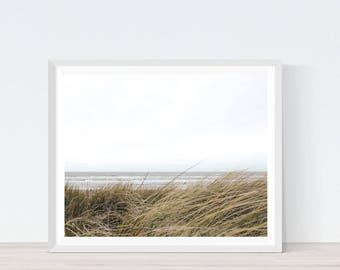 Beach prints, beach pictures, beach photography, scandinavian art, beach wall art, wall art beach, digital photography, nature art, print C7