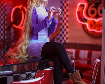 Pacifica Cosplay Costume + WIG!