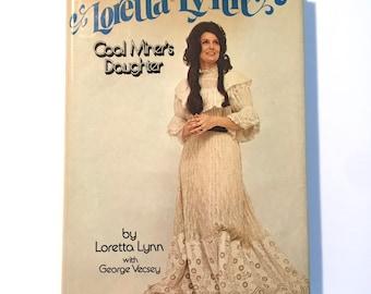 "1976 LORETTA LYNN ""Coal Miner's Daughter"" Country Music Star Biography Kentucky Hardback Book"