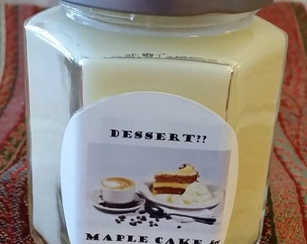 Maple Cake and Coffee Soy candle  TAKE20ONSOY coupon.  20% off