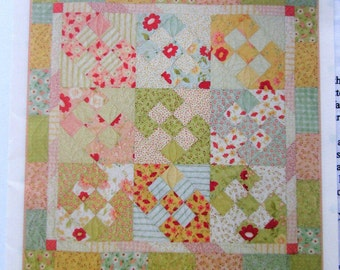 A Little Bit Country Quilt Pattern, Schnibbles by Miss Rosie's Quilt Co.