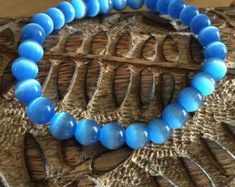 Amici. Blue tiger eye bracelet
