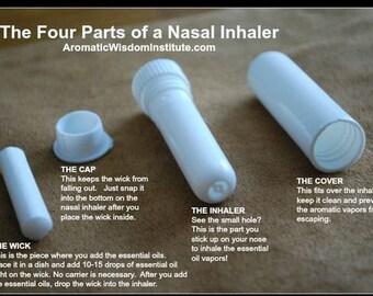 Nasal INHALER tubes