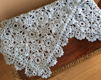 Crochet Motif Table Runner