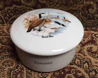 Canadian Geese Trinket Box by Viletta