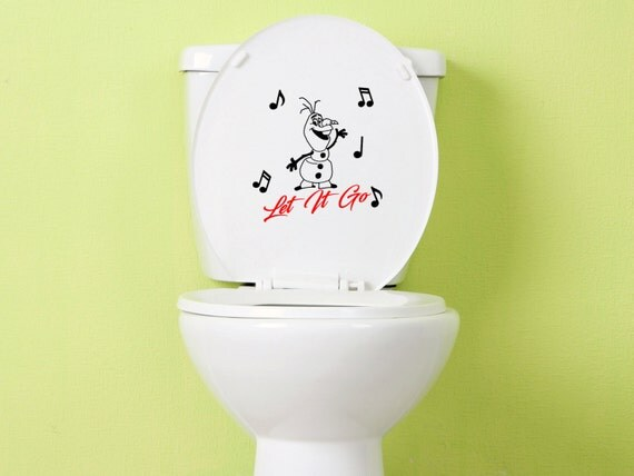 toilet decal toilet sticker bathroom decals by nethutdecals, Home decor