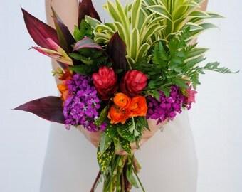 Tropical Wedding Flower Package