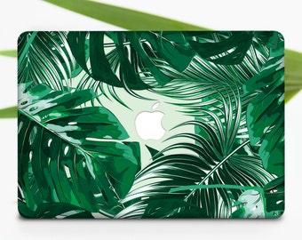 Leaves Macbook Case Macbook Pro Case Macbook Pro Retina 13 Hard Case Macbook Air 13 Hard Case Macbook Air Case Tropical Macbook Cover m036