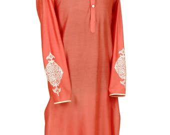 Indian Kurta - Desi - Gift for him-Father Day- Ethnic wear-Indian party-Celebrations- Kurta for the man- Casual Kurta- Ladka- Bhai
