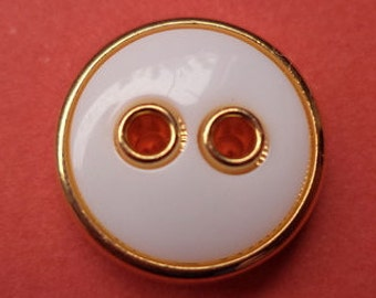 White Gold 14 mm (1898) button blouse buttons 12 small buttons