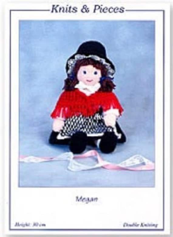 Knitting Patterns For Welsh Dolls : Megan the Welsh Doll Knitted Doll Knits & Pieces Knitting