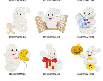 Little-Ghosts ( 10 Machine Embroidery Designs from ATW )