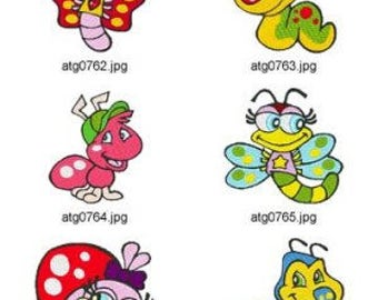 Buggin-out-Bugs ( 10 Machine Embroidery Designs from ATW ) XYZ17D